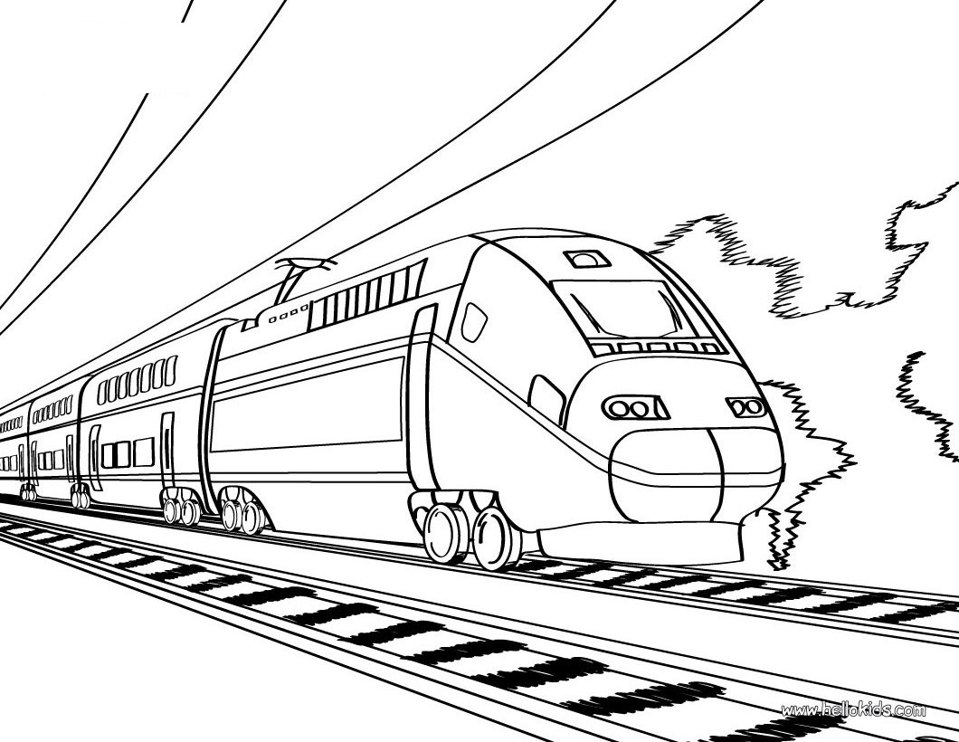 coloring train drawing pictures for kids train with two carriages coloring page free printable kids coloring drawing pictures train for