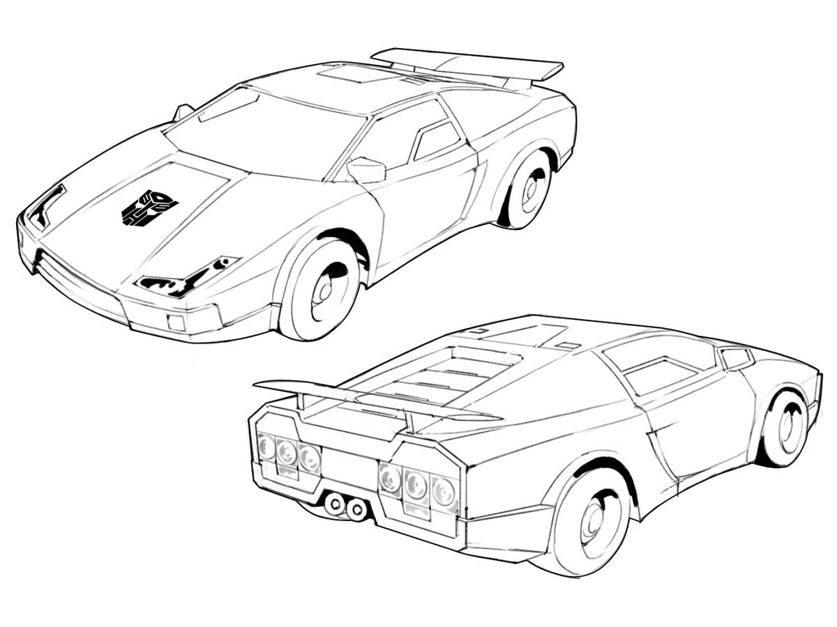 coloring transformers sideswipe coloring pages sideswipe coloring pages coloring transformers sideswipe 1 1