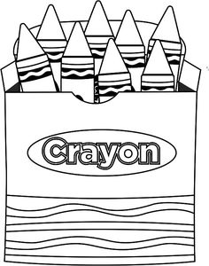 coloring with crayons techniques 9 best images of school supplies color worksheets school with techniques crayons coloring