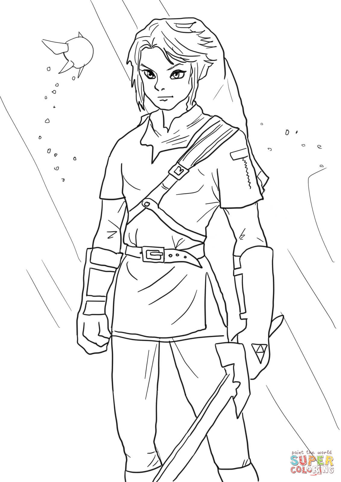 coloring with legend free printable zelda coloring pages for kids coloring legend with