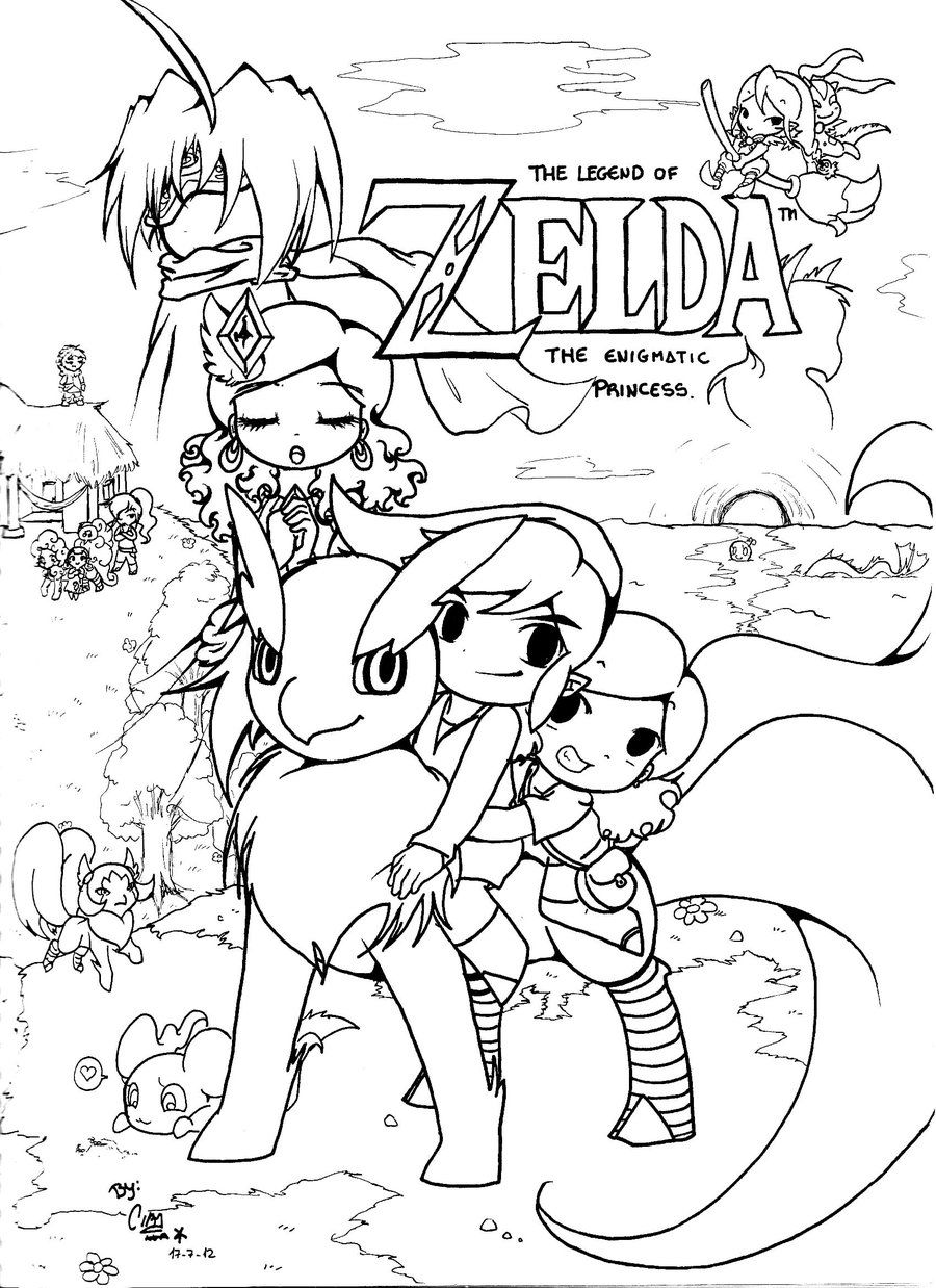 coloring with legend legend of zelda coloring pages fanart free printable coloring with legend