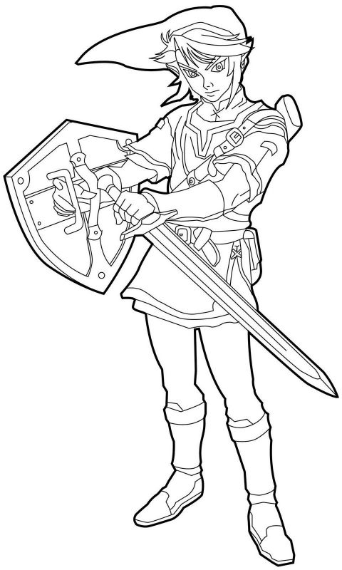 coloring with legend legend of zelda coloring pages free transparent clipart with legend coloring