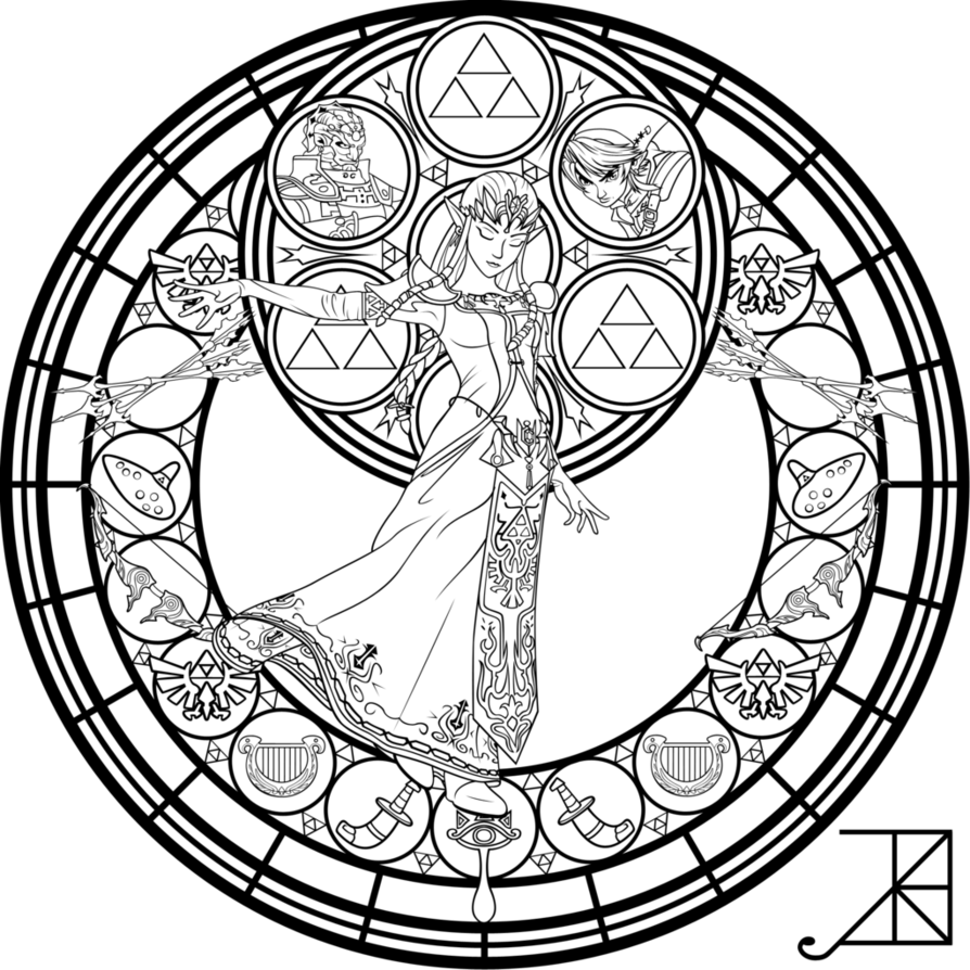 coloring with legend printable zelda coloring pages for kids with coloring legend