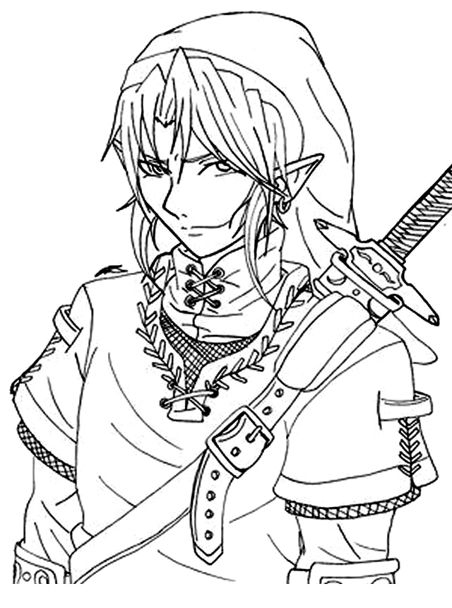 coloring with legend the legend of zelda coloring pages coloring pages legend with coloring