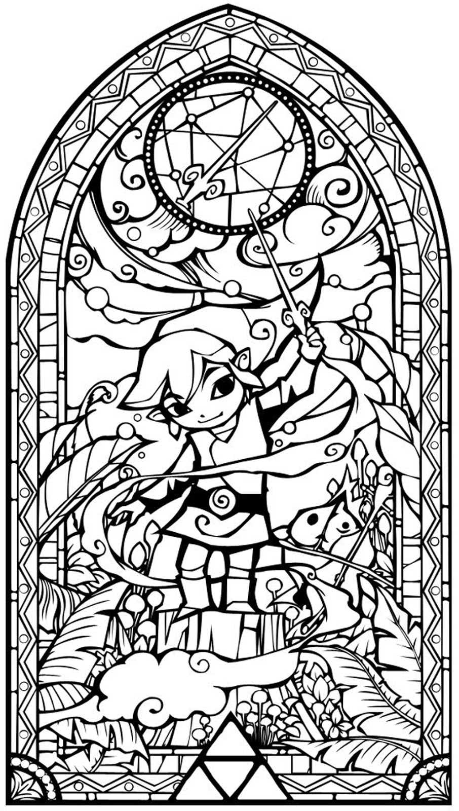 coloring with legend zelda coloring pages free download coloring legend with