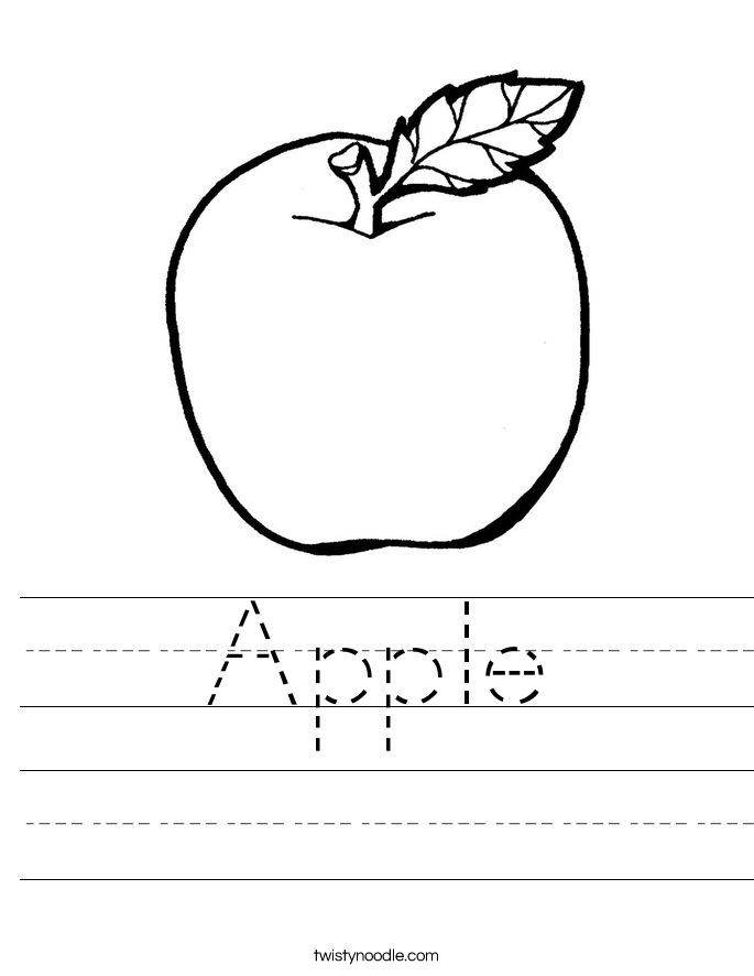 coloring worksheet apple color the apples worksheet twisty noodle coloring worksheet apple