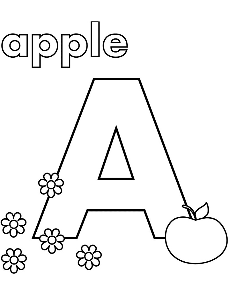 coloring worksheet for letter a be creative with abc coloring pages worksheet a for letter coloring