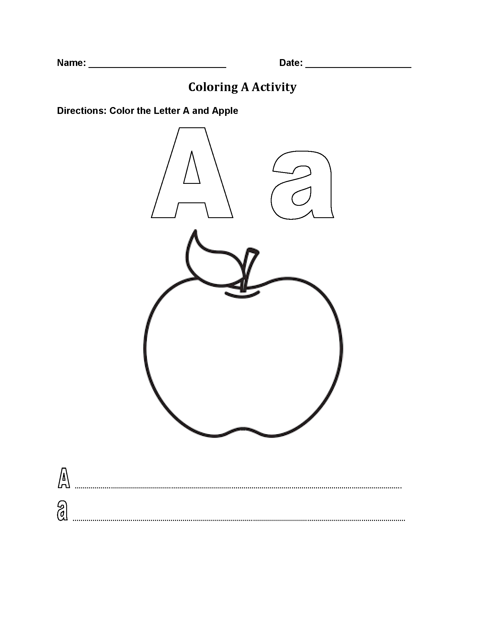 coloring worksheet for letter a cute uppercase letter a coloring page free printable coloring letter for worksheet a