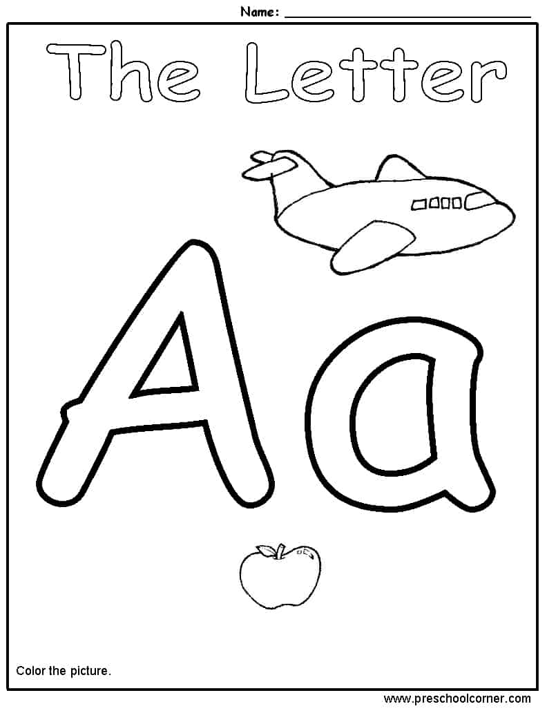 coloring worksheet for letter a kids page a is for ant worksheet alphabet letters for coloring letter a worksheet