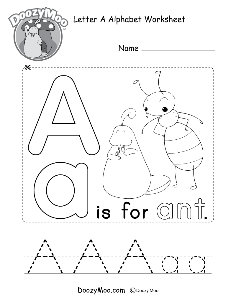 coloring worksheet for letter a learn the letter a with fluffy and ivy coloring for worksheet a letter