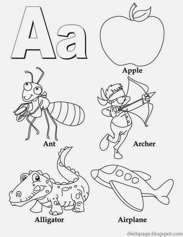 coloring worksheet for letter a letter a alphabet cards for display or coloring full a worksheet for coloring letter