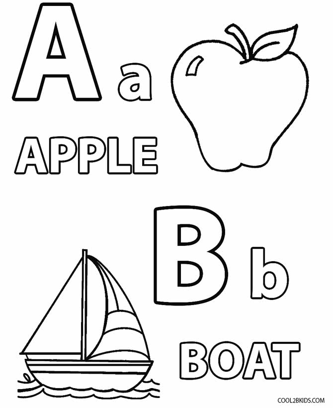 coloring worksheet for letter a printable toddler coloring pages for kids cool2bkids coloring a for letter worksheet