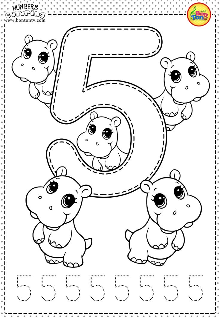 coloring worksheet number 5 color the number 5 preschool number worksheets numbers number worksheet 5 coloring
