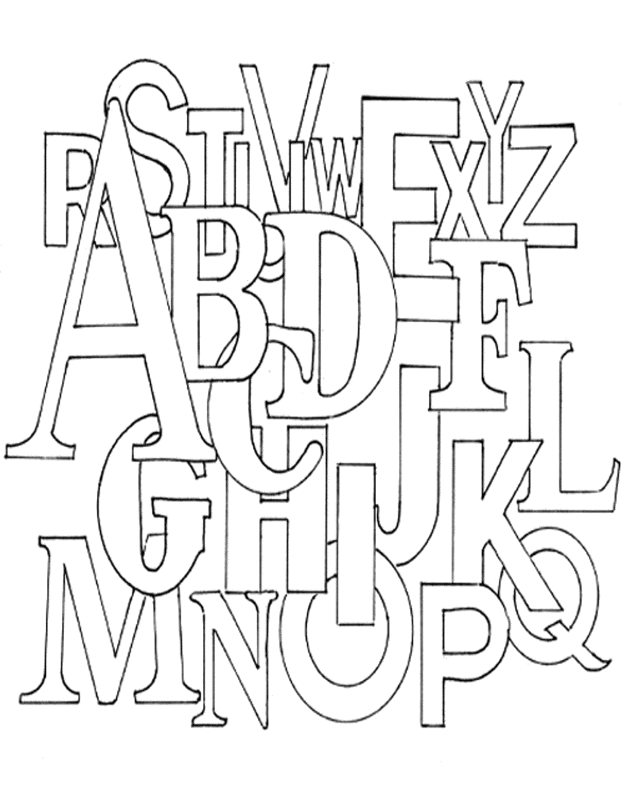 coloring worksheets abc free printable abc coloring pages for kids coloring abc worksheets