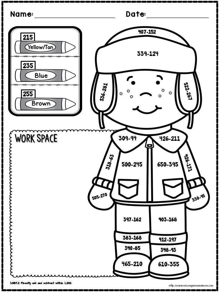 coloring worksheets for grade 3 halloween math 3rd grade color by number by satsumas and grade 3 for worksheets coloring