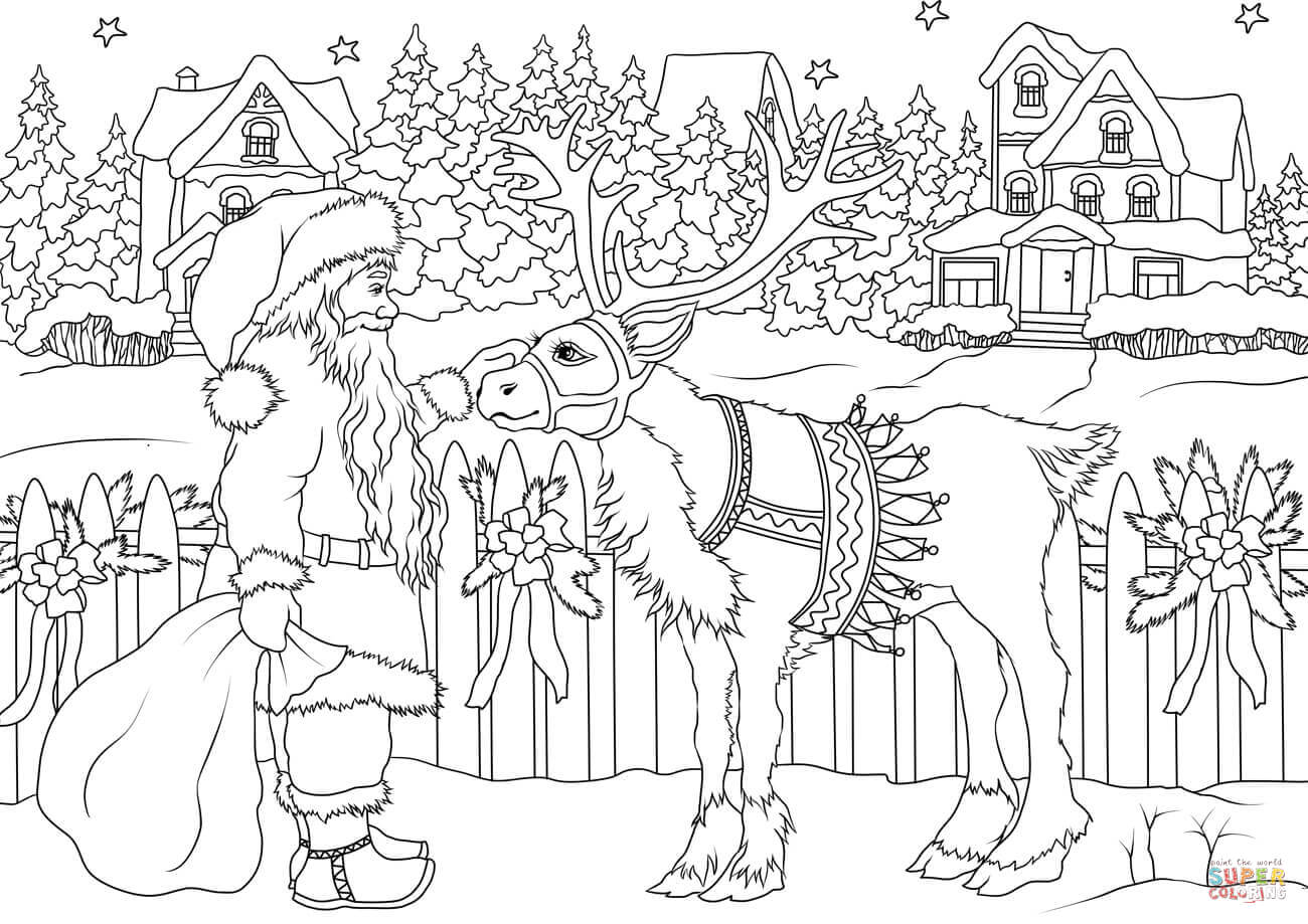 colour in father christmas coloringrocks santa coloring pages christmas coloring christmas colour in father