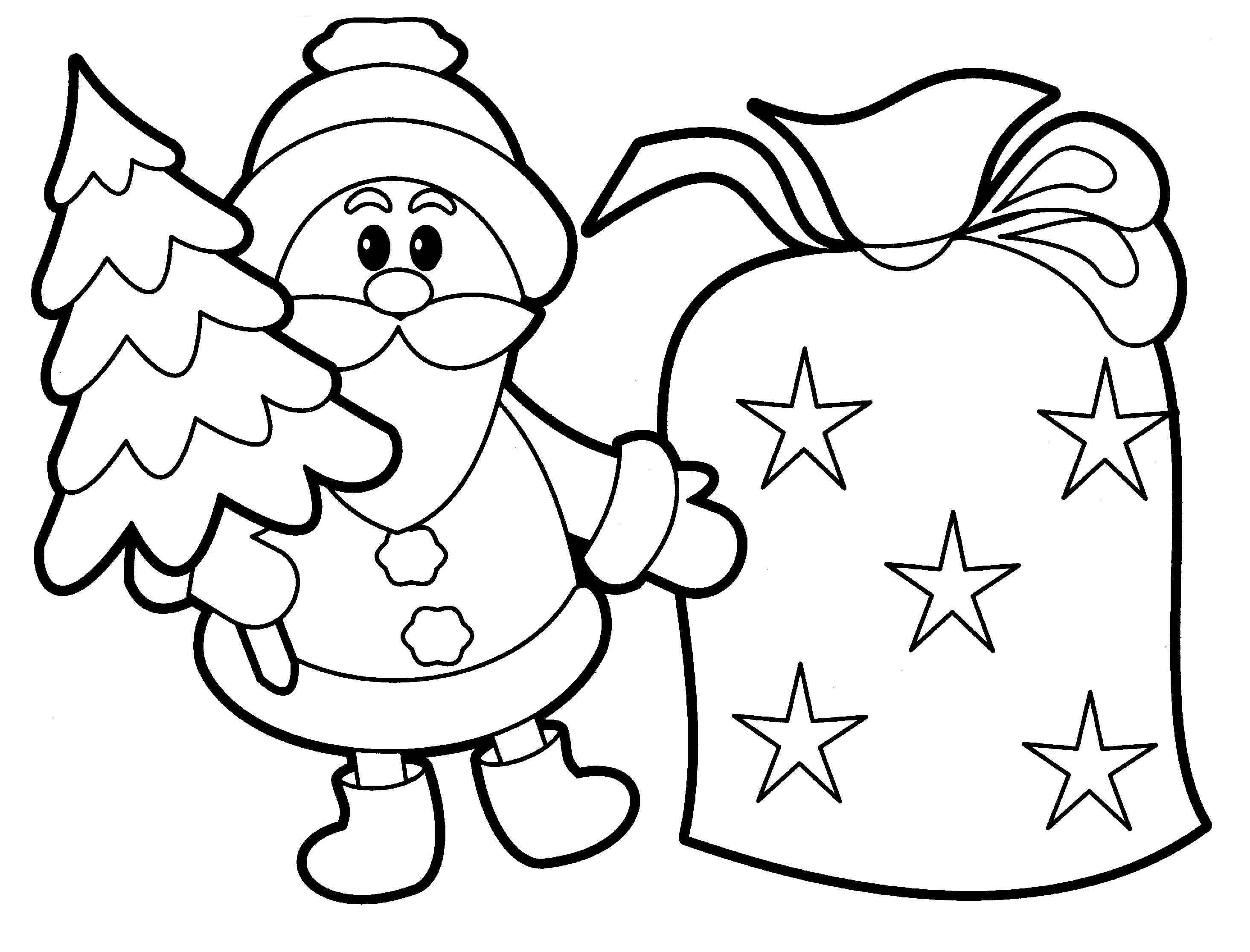 colour in father christmas father christmas colouring page colouring pages for kids christmas in father colour