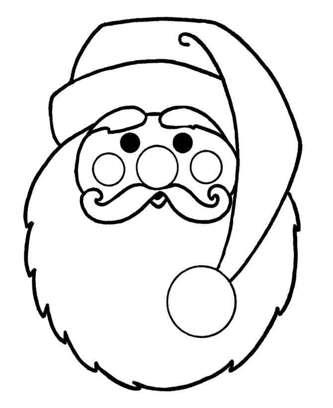 colour in father christmas father christmas colouring pictures clipartsco christmas in colour father