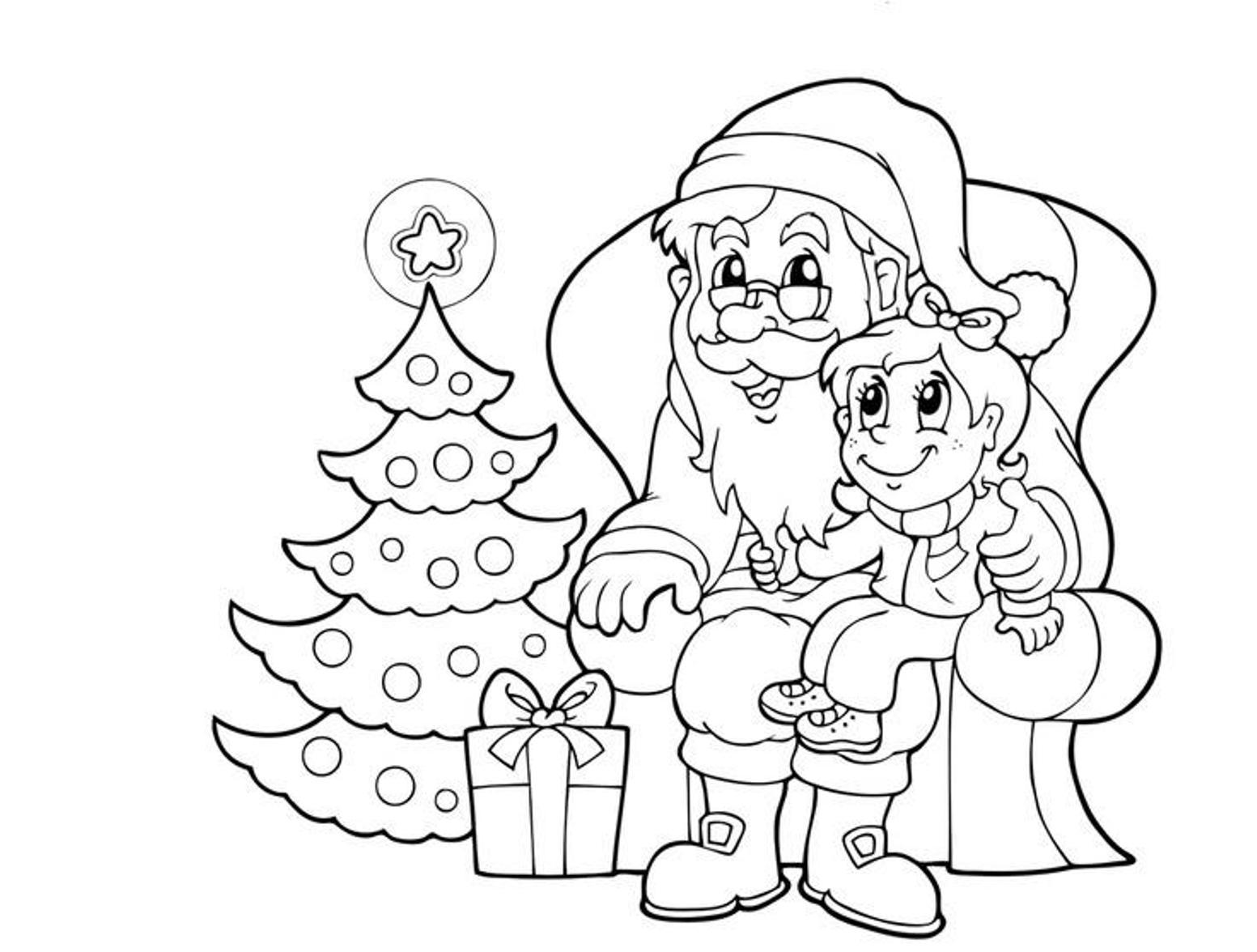 colour in father christmas father christmas colouring pictures clipartsco colour in christmas father