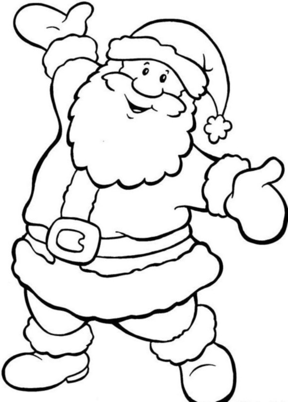 colour in father christmas father christmas pictures to colour clipartsco father in christmas colour