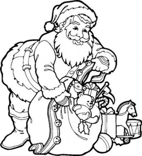 colour in father christmas santa claus coloring pages fantasy coloring pages christmas in colour father