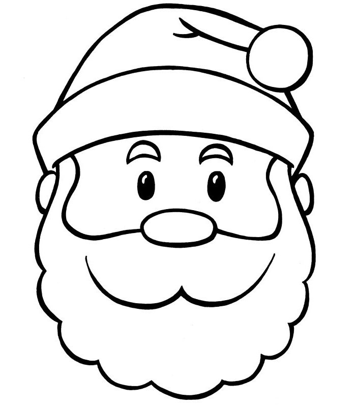 colour in father christmas santa claus coloring pages team colors colour christmas in father