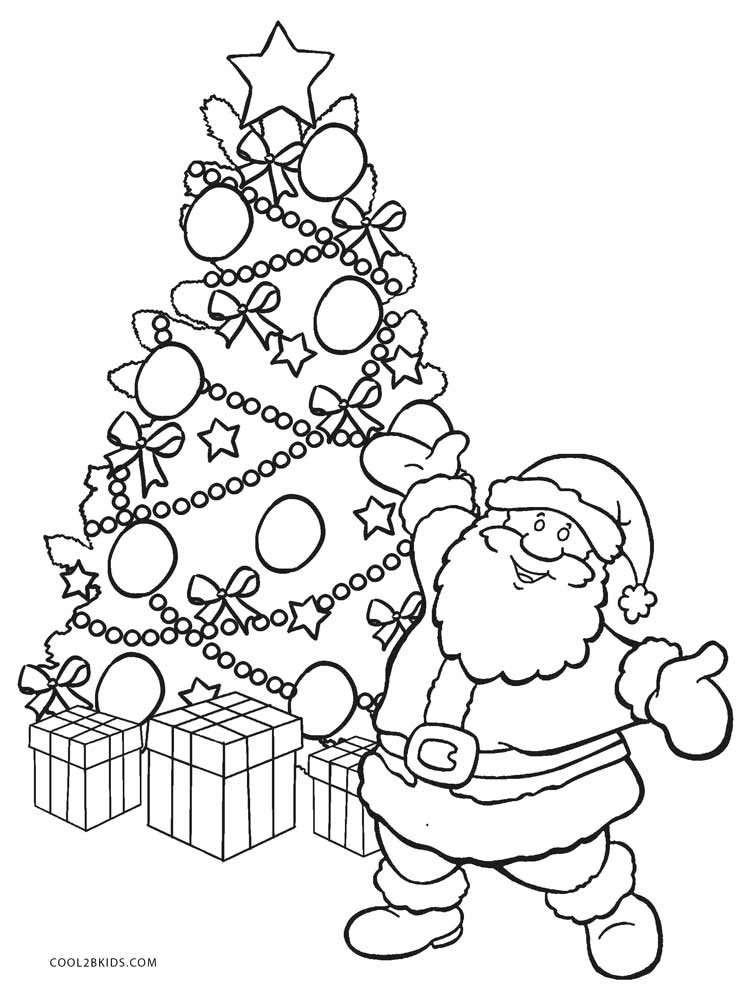 colour in father christmas santa claus drawing easy at getdrawings free download in father colour christmas