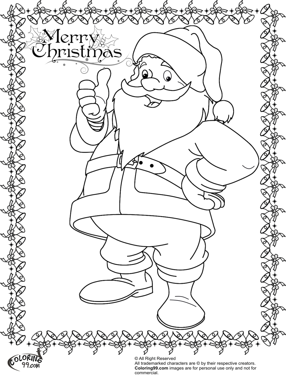 colour in father christmas vintage santa claus with his christmas deer coloring page colour christmas in father