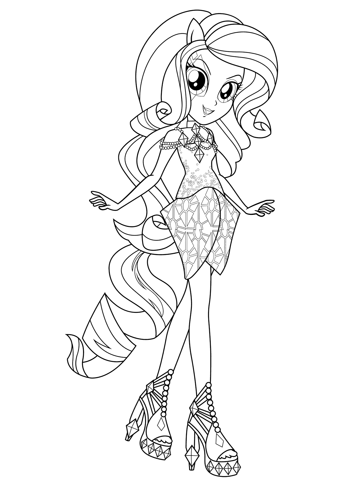 colour in pictures for girls equestria girls coloring pages best coloring pages for kids in for pictures colour girls