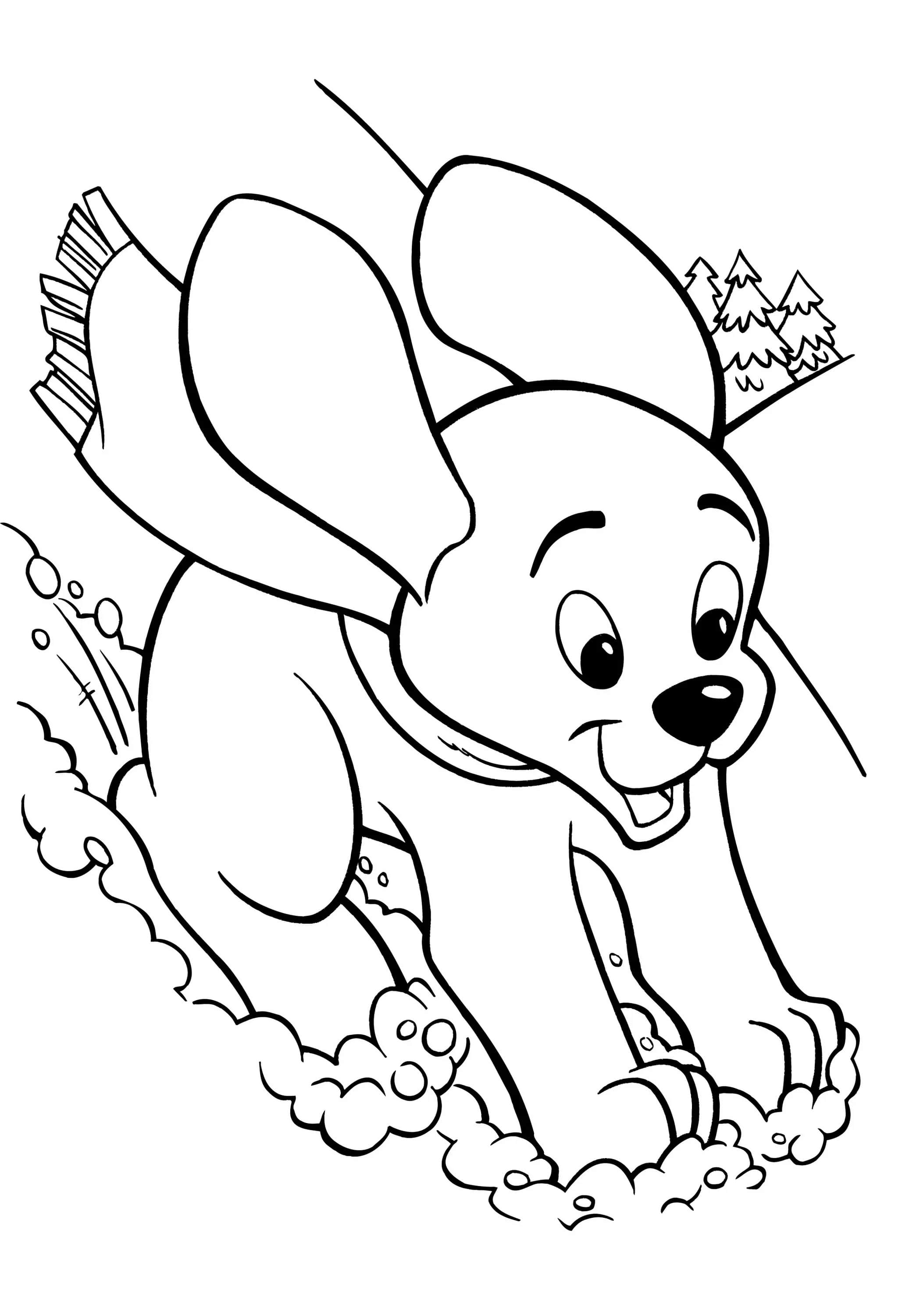 colouring dog the dog in world some dogs coloring for babies colouring dog