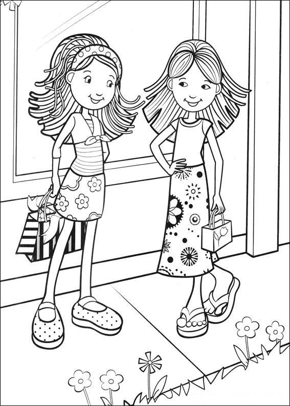 colouring in pictures for girls kids n funcom 65 coloring pages of groovy girls in for pictures colouring girls