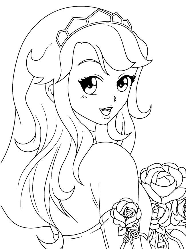 colouring in pictures for girls manga coloring pages to download and print for free for colouring girls in pictures