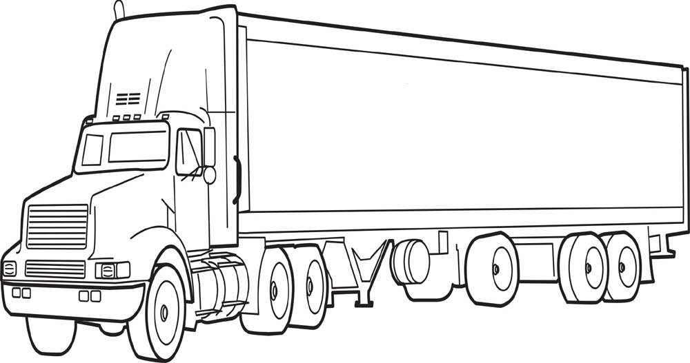colouring in trucks 40 free printable truck coloring pages download in colouring trucks
