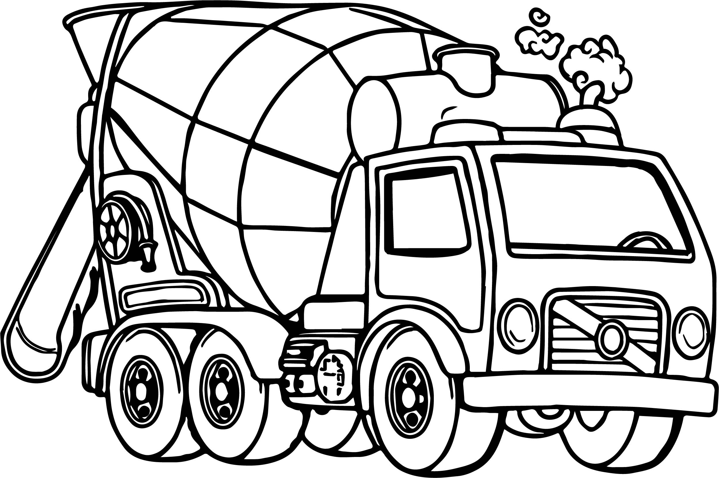colouring in trucks truck coloring pages coloringrocks in colouring trucks