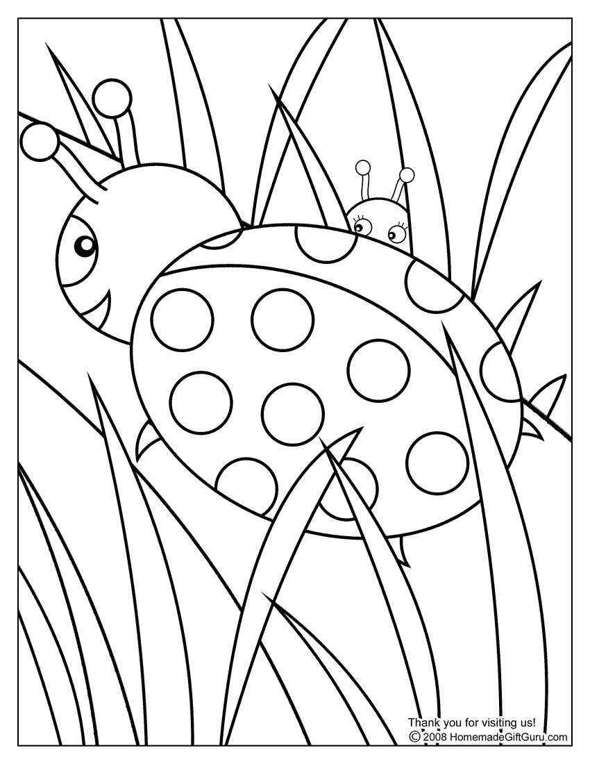 colouring ladybird ladybug coloring pages getcoloringpagescom colouring ladybird
