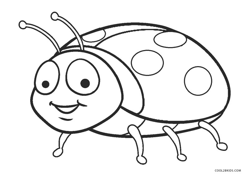 colouring ladybird ladybug coloring pages getcoloringpagescom ladybird colouring