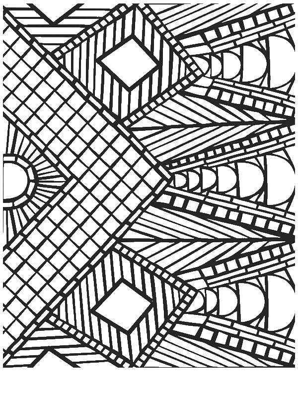 colouring pages for 12 year olds awesome geometric mosaic coloring page download print olds for 12 pages colouring year