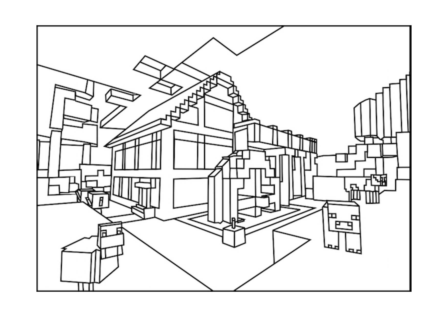 colouring pages of minecraft minecraft free to color for children minecraft kids minecraft pages of colouring
