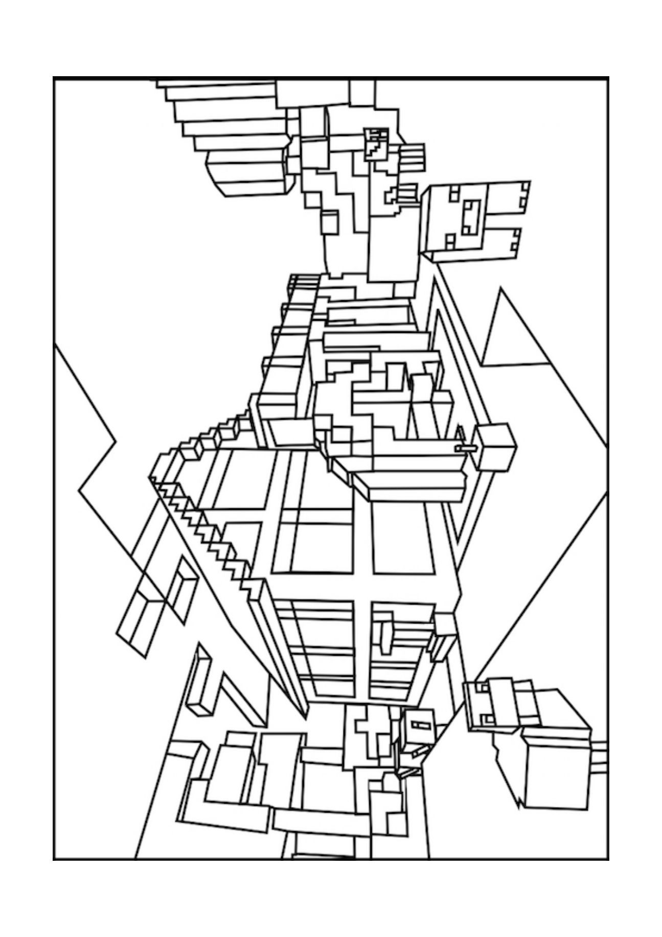 colouring pages of minecraft minecraft sword coloring pages at getcoloringscom free minecraft pages of colouring