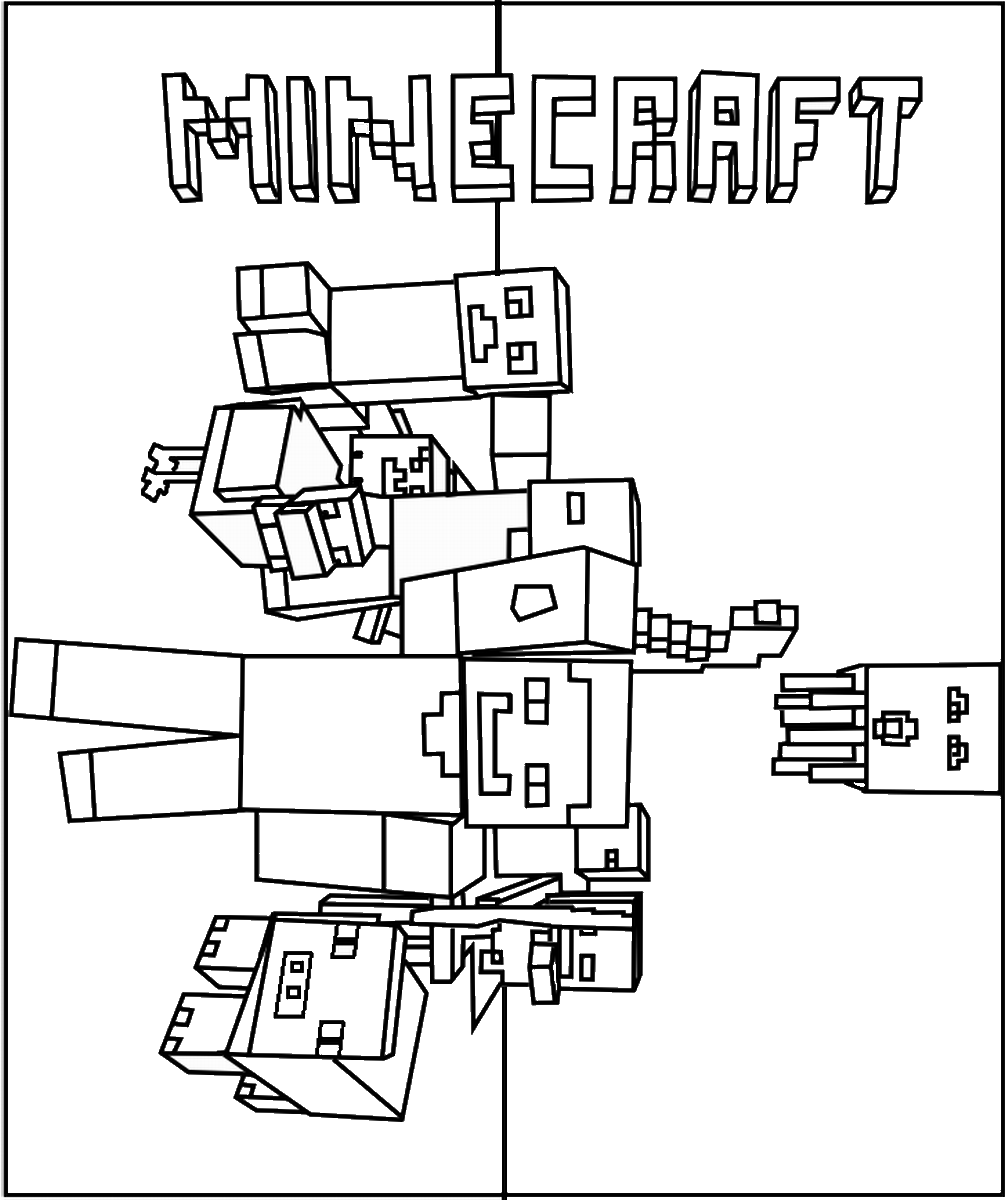 colouring pages of minecraft printable minecraft coloring pages coloring home minecraft colouring pages of
