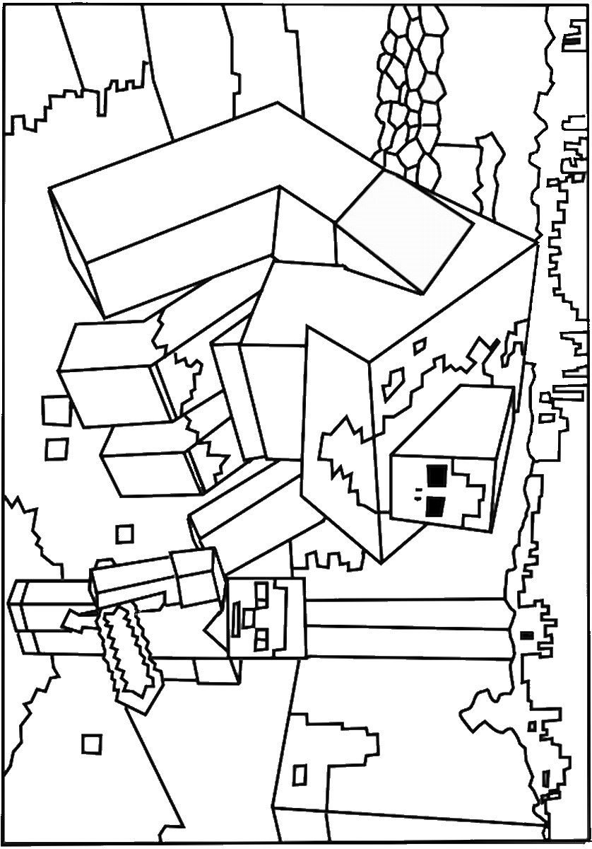 colouring pages of minecraft printable minecraft coloring pages coloring home pages of minecraft colouring