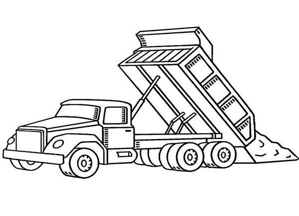 construction truck coloring pages construction truck coloring pages coloring home pages truck coloring construction