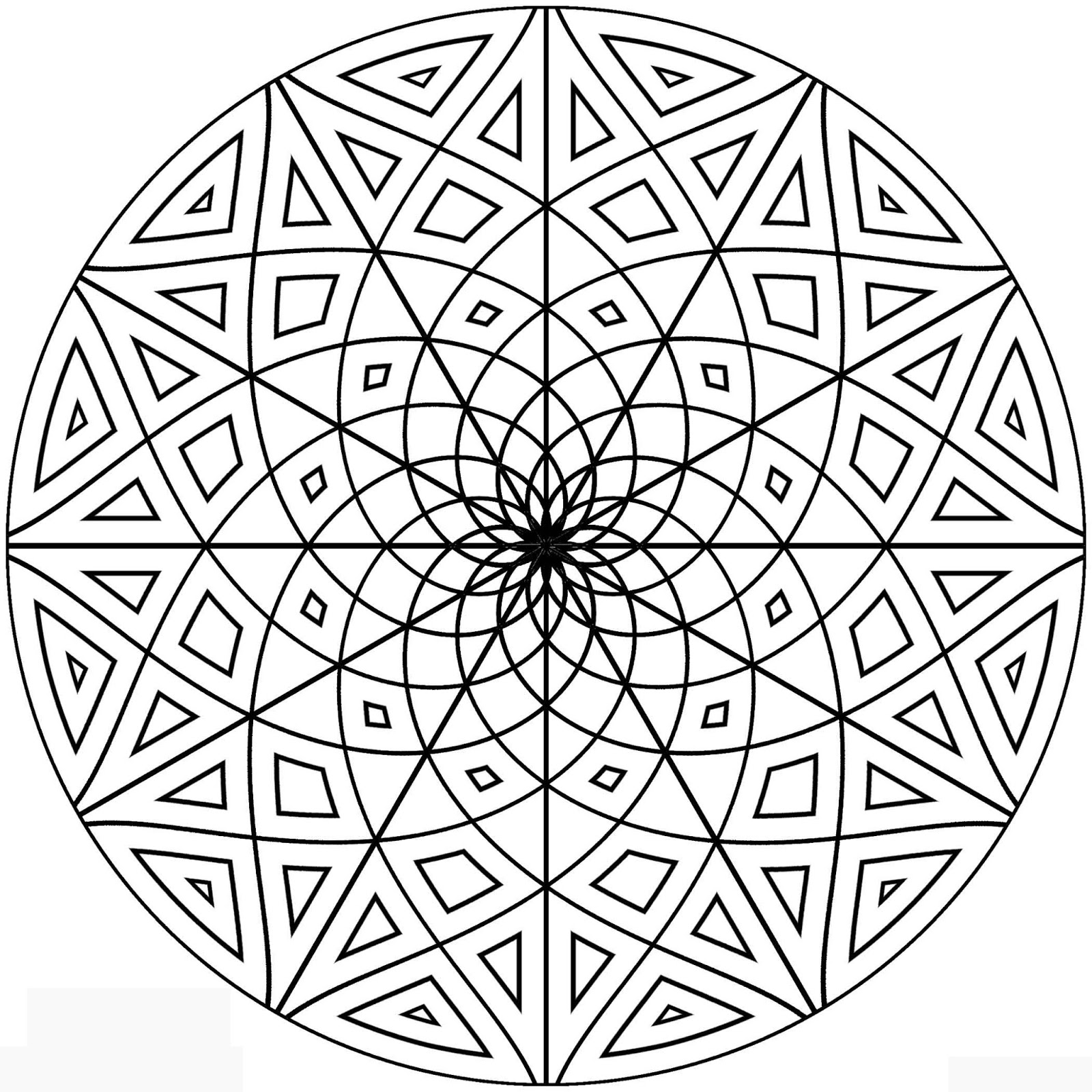 cool patterns to colour in free printable geometric coloring pages for adults in to colour cool patterns