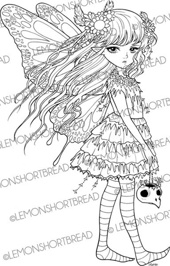 creepy fairy coloring pages pin on adult colouring creepy fairy pages coloring