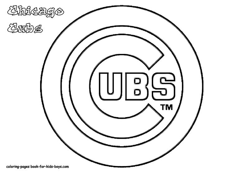 cubs baseball coloring pages 612x792 chicago cubs doodle coloring page cubs colors pages coloring baseball cubs