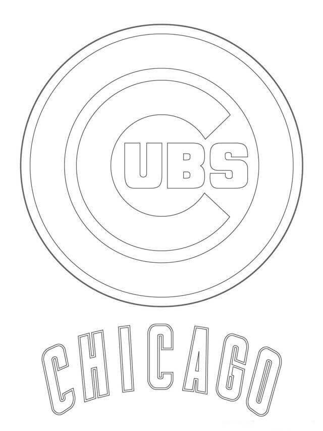 cubs baseball coloring pages chicago cubs baseball coloring pages Сoloring pages for cubs baseball pages coloring