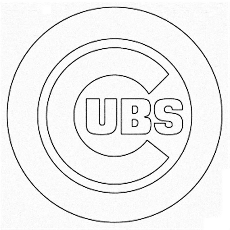 cubs baseball coloring pages chicago cubs coloring pages at getcoloringscom free baseball coloring cubs pages