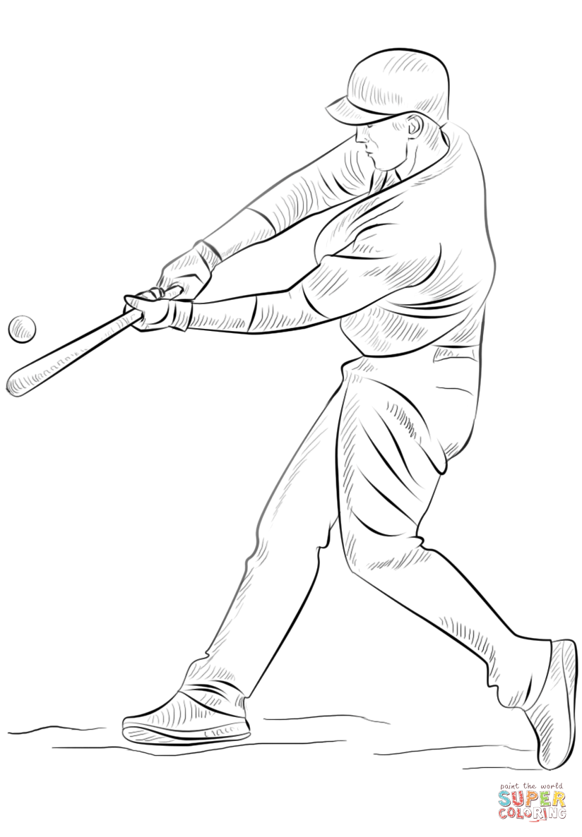 cubs baseball coloring pages chicago cubs coloring pages at getcoloringscom free cubs baseball pages coloring