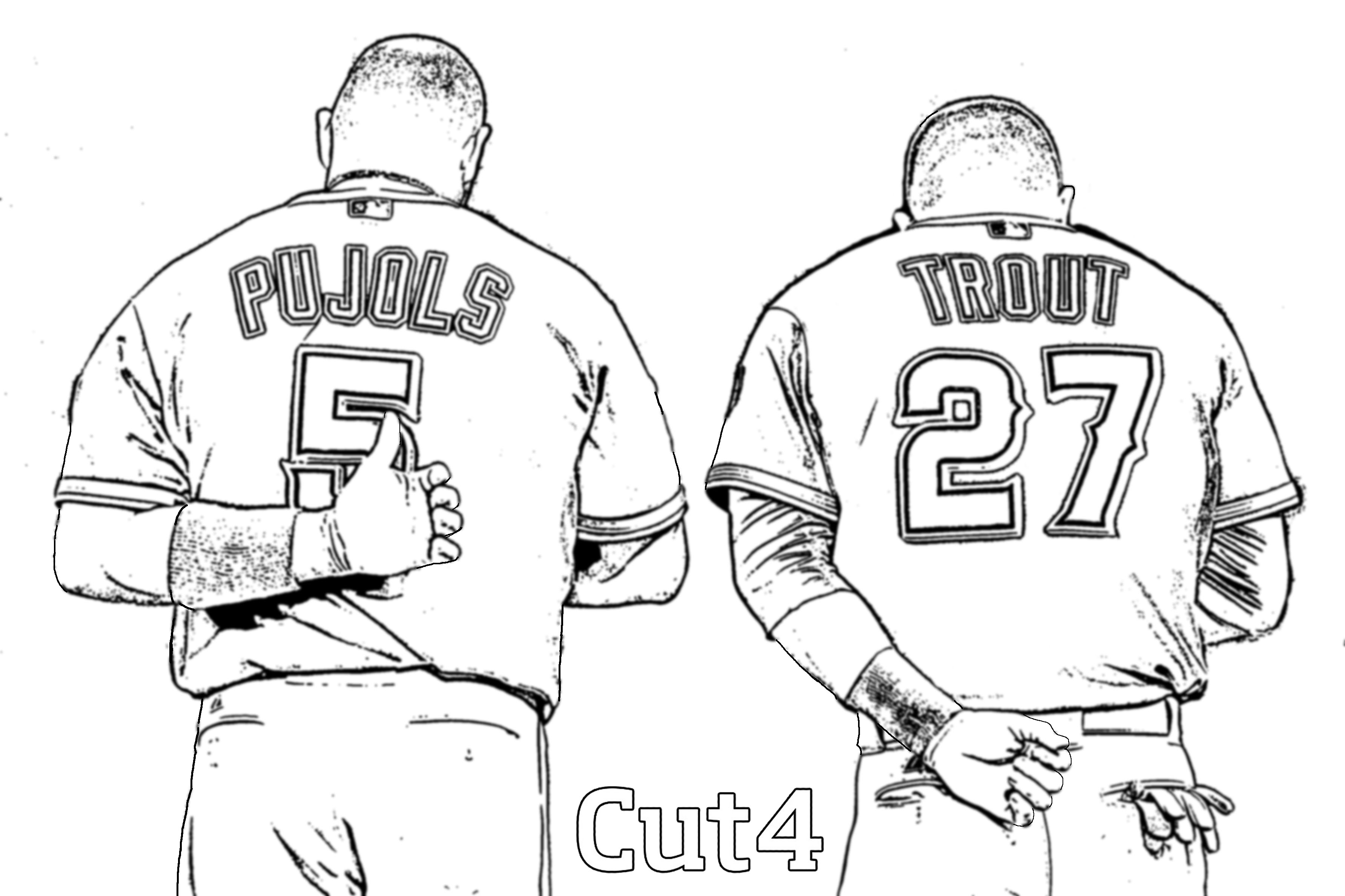 cubs baseball coloring pages chicago cubs drawing at getdrawings free download pages coloring baseball cubs