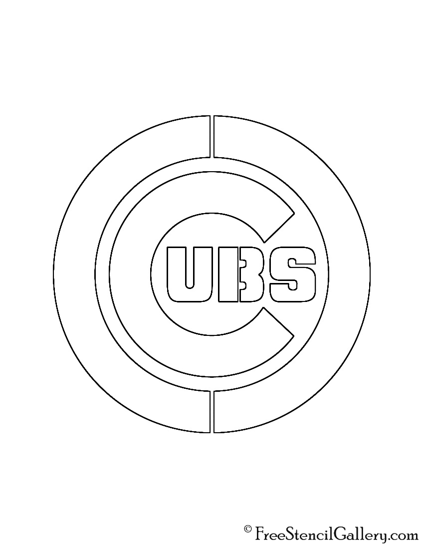 cubs baseball coloring pages chicgo cubs coloring pages learny kids baseball cubs coloring pages